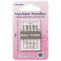 13. H101.70 Sewing Machine Needles: Ball Point: Fine 70/10: 5 Pieces