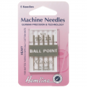 15. H101.90 Sewing Machine Needles: Ball Point: Medium/Heavy 90/14: 5 Pieces