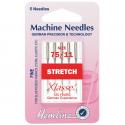 17. H102.75 Sewing Machine Needles: Stretch: Fine 75/11: 5 Pieces