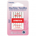 18. H102.90 Sewing Machine Needles: Stretch: Heavy 90/14: 5 Pieces