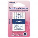 23. H103.90 Sewing Machine Needles: Jeans: Medium/Heavy 90/14: 5 Pieces