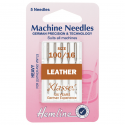 25 . H104.100 Sewing Machine Needles: Leather: Heavy 100/16: 5 Pieces