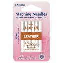 26. H104.110 Sewing Machine Needles: Leather: Heavy 110/18: 5 Pieces
