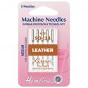 28. H104.90 Sewing Machine Needles: Leather: Medium 90/14: 5 Pieces