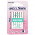 35. H106.80 Sewing Machine Needles: Quilting: Medium 80/12: 5 Pieces