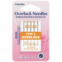 38. H107.A Overlock/Serger Machine Needles: Type A: 80/12: 5 Pieces