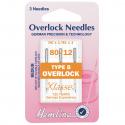 39. H107.B Overlock/Serger Machine Needles: Type B: 80/12: 5 Pieces