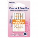 40. H107.E Overlock/Serger Machine Needles: Type E: 80/12: 5 Pieces