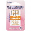 42. H107.G Overlock/Serger Machine Needles: Type G: 80/12: 5 Pieces