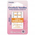43. H107.K Overlock/Serger Machine Needles: Type K: 80/12: 3 Pieces