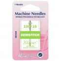 60. H115.100 Sewing Machine Needles: Hemstitch: 100/16: 1 Piece