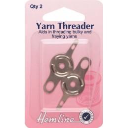 Hemline Yarn Threader 2 Pack