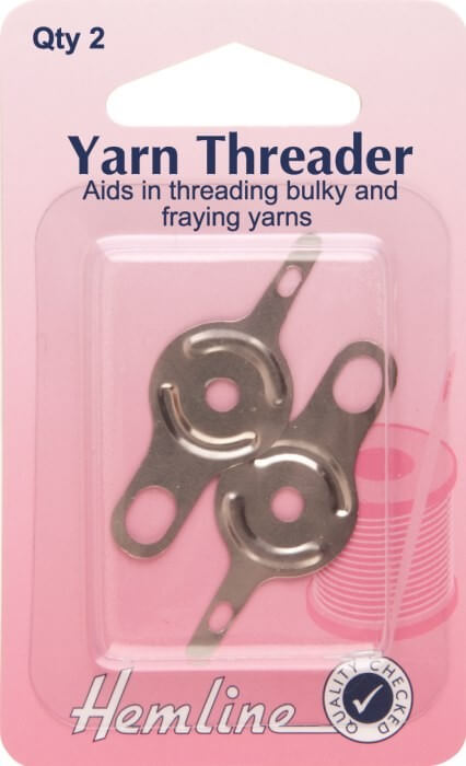 Hemline Yarn Threader 2 Pack