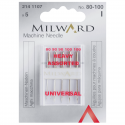 7. 2141107 - Sewing Machine Needles: Universal: 60/8(2), 70/10(2), 80/12(1): 5 Pieces