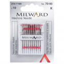 9. 2141109 - Sewing Machine Needles: Universal: 70/10(4), 80/12(4), 90/14(2): 10 Pieces