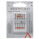 13.2142102 - Sewing Machine Needles: Stretch: 90/14(1): 5 Pieces