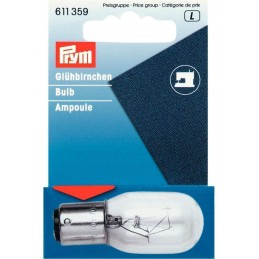 Prym 15w 220V Bayonet or Screw In Sewing Machine Bulb or Appliances