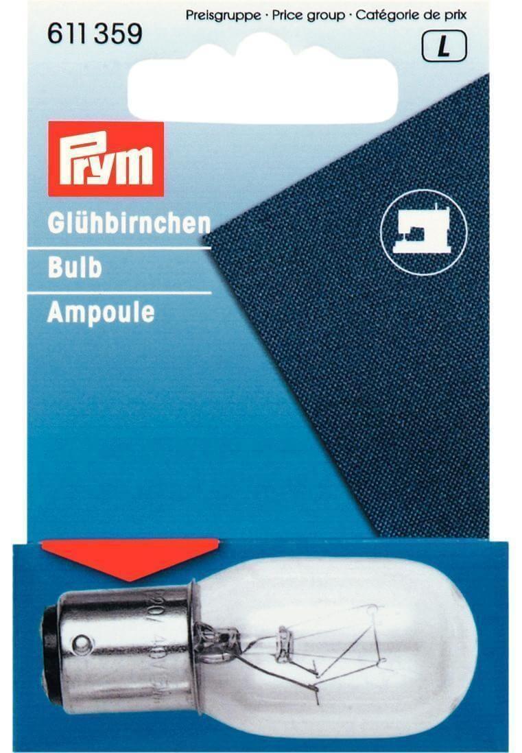 611358 Prym 15w 220V Screw In Sewing Machine Bulb or Appliances