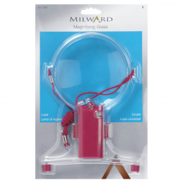 2. 2511502 - Magnifying Glass with Lamp: Plastic