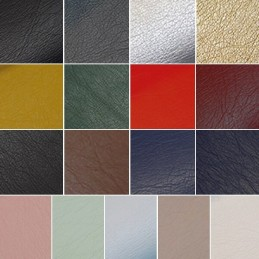 High Quality Soft Leatherlook Faux Leather Effect Fabric Dressmaking 140cm Wide