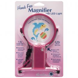 2. H989 - Hands Free Neck Magnifier with LED Light