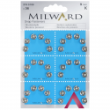 36 x 9mm Silver Milward Sew On Snap Press Stud Fasteners 2195109