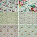 Northcott Julia's Hopelessly Romantic Garden Floral 100% Cotton Patchwork Fabric