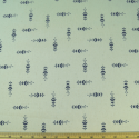 Meadow Grass Navy On Natural