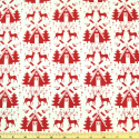 Reindeer Farm Red On Natural