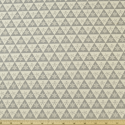 Snowflake Triangles Grey