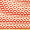 Snowflake Triangles Red
