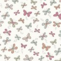 Woodland Butterflies Cream