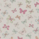 Woodland Butterflies Taupe