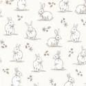 Woodland Bunnies Cream