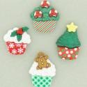 7474 Christmas Cupcakes