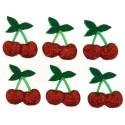 9386 Glitter Cherries