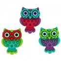 7673 Retro Owls