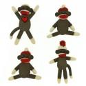 7681A Sock Monkeys