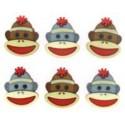 7681B Sock Monkey Faces