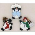 7493 Roly Poly Snowmen