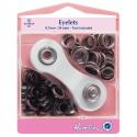 14. H438P.8.N Eyelets Starter Kit: Nickel/Silver - 8.7mm