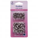 23. H438PR.5.N Eyelets Refill Pack: Nickel/Silver - 5.5mm