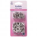 25. H438PR.8.N Eyelets Refill Pack: Nickel/Silver- 8.7mm