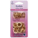 26. H438PR.10.G Eyelets Refill Pack: Gold/Brass - 10.5mm