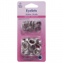 27. H438PR.10.N Eyelets Refill Pack: Nickel/Silver - 10.5mm