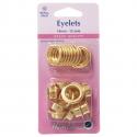 29. H438PR.14.G Eyelets Refill Pack: Gold/Brass - 14mm