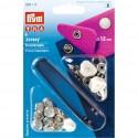 8. 390117 - Press Fasteners 12mm Jersey Pearl 6 Piece Card .