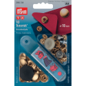 17. 390314 - Press Fasteners 15mm Anorak Gold-Coloured 10 Piece Card