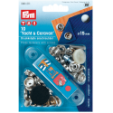 23. 390211 - Press Fasteners 15mm Yacht & Caravan 10 Piece Card