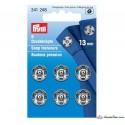 35. 341248 - Snap Fasteners 13mm Nickel 6 Piece Card